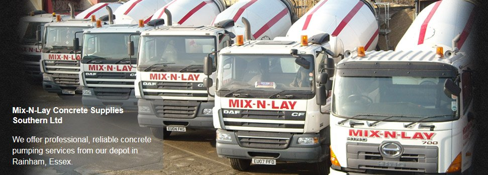 To get your free quotation in Rainham call Mix-N-Lay Concrete Supplies