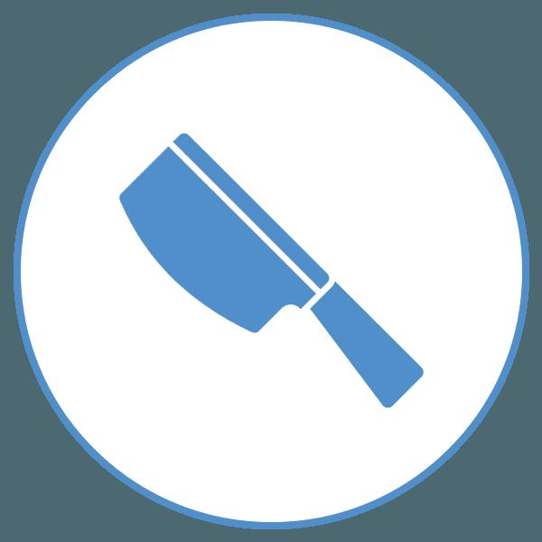 icona coltello da macellaio