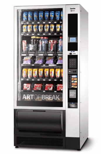 Distributori automatici di bevande e snack Necta Samba