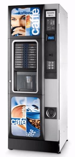 Distrubutori automatici di bevande calde Necta Concerto