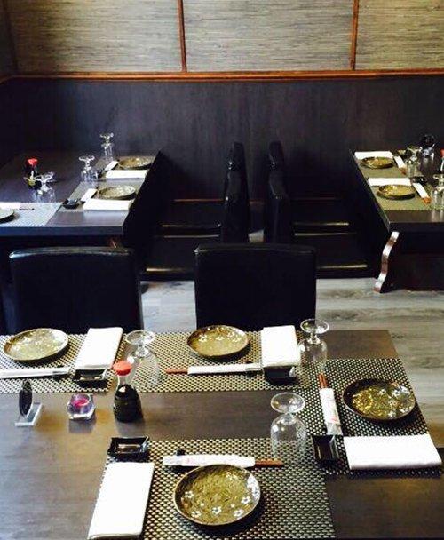 Tavoli da pranzo di un Ristorante Giapponese