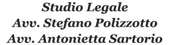 STUDIO LEGALE POLIZZOTTO - SARTORIO - LOGO