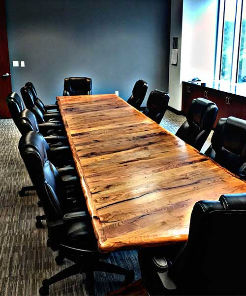 Custom Wood Office Furniture Executive Desks
