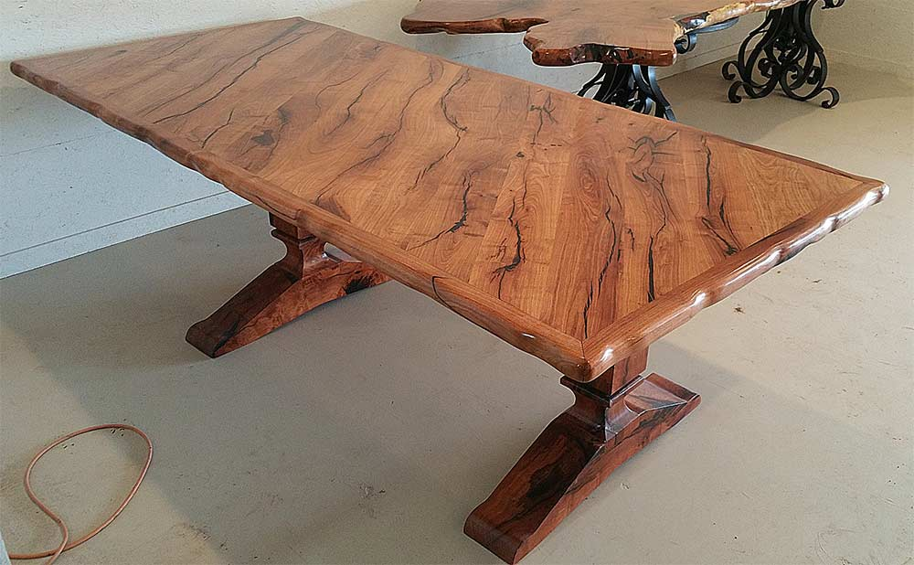 3000 Mesquite Wood Table