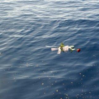 servizi floreali Rezzio, dispersione ceneri in mare