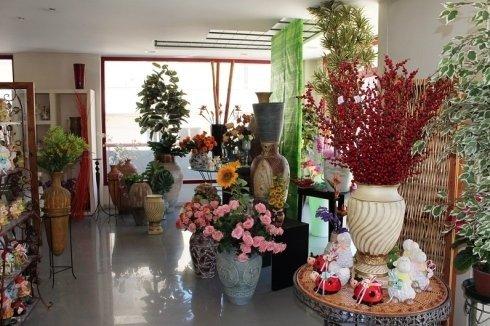 interno di negozio di fiori