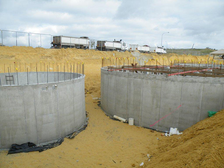 Water Tank Installation Gallery in Perth | Armadale Concrete Tank