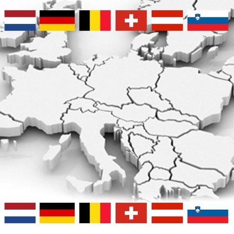international transport Netherlands - Belgium - Germany - Austria - Switzerland - Slovenia