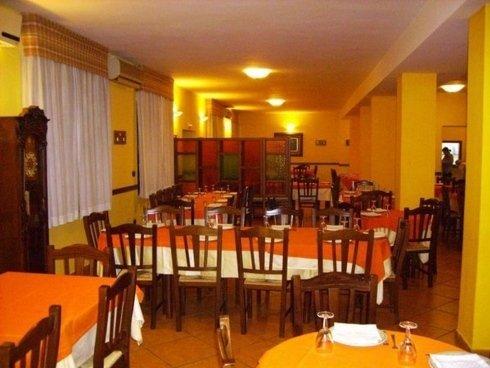 Interno del ristorante - la sala