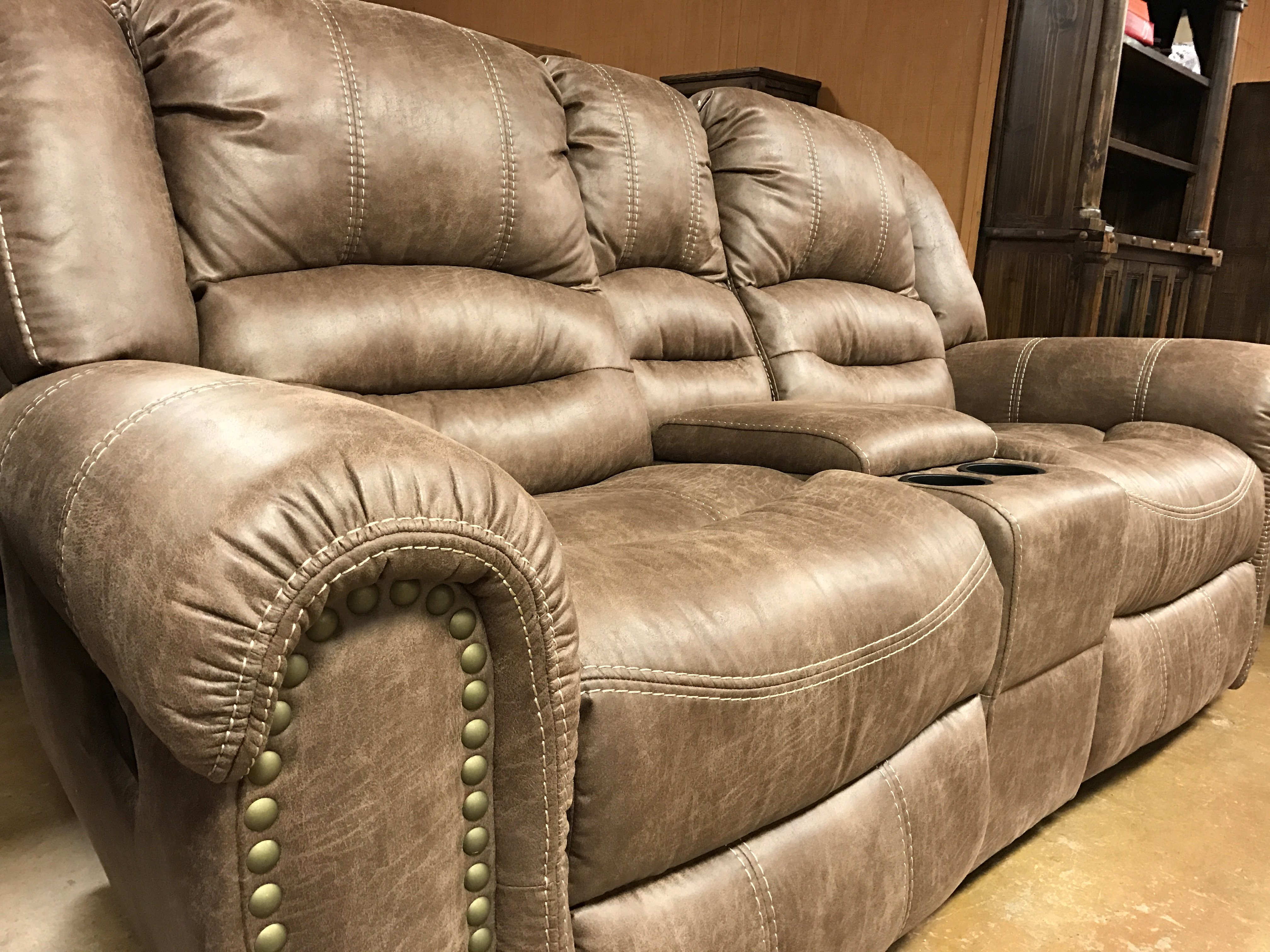 Howdy Home Furniture Loveseat