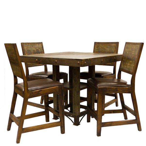 urban rustic furniture. square urban rustic table furniture