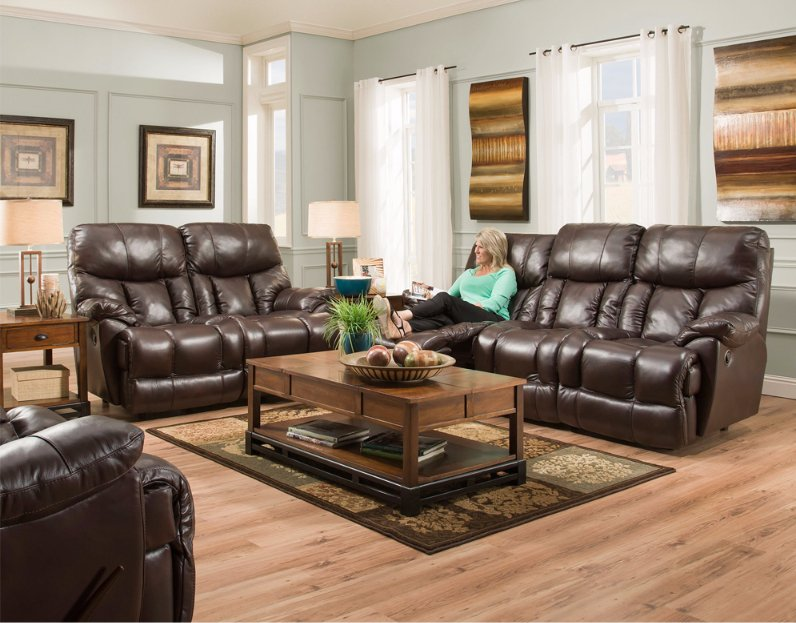 Leather Sofas at Howdy Home Furniture