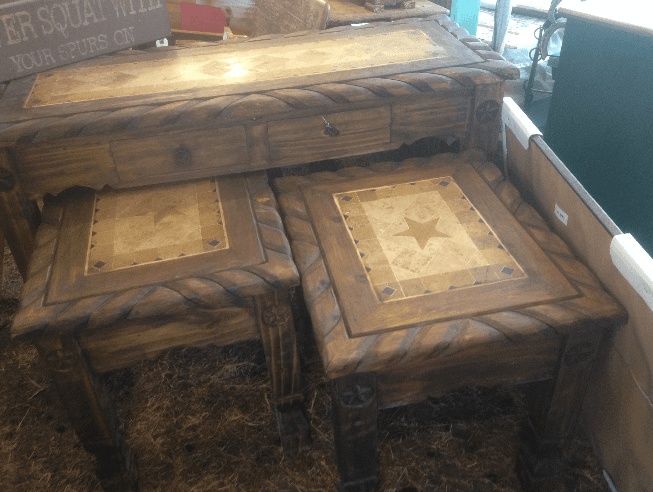 Rope Tables at Howdy Home Furniture