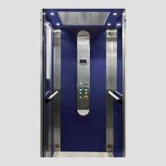 ascensore blu