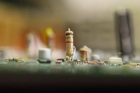 pulitura schede elettroniche