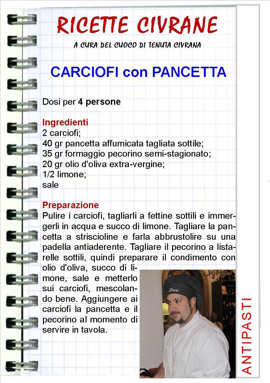 Ricetta Carciofi con Pancetta