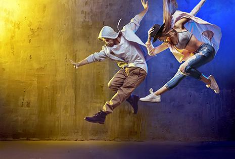 ballerini hip-hop sportivi