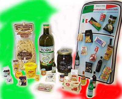 miniatre prodotti gastronomici