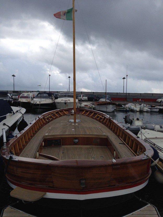 barca in legno_modello gozzo di pinto