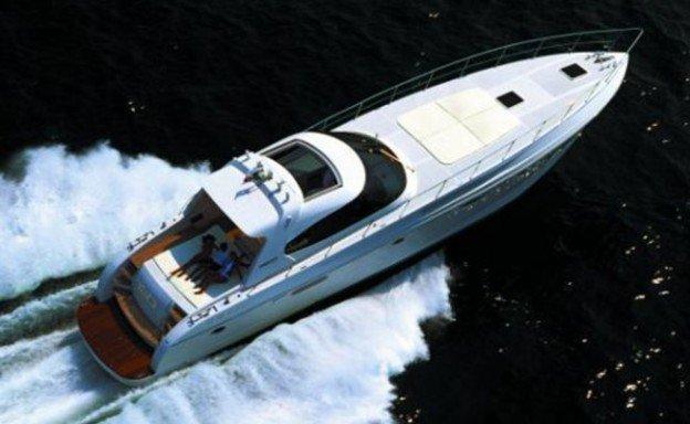 vista dall`alto yacht