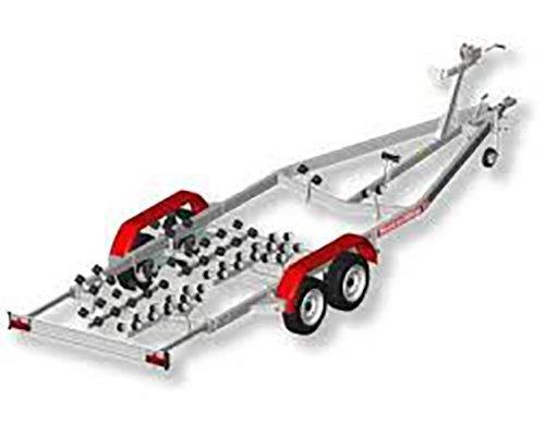carrello per barche in 3D