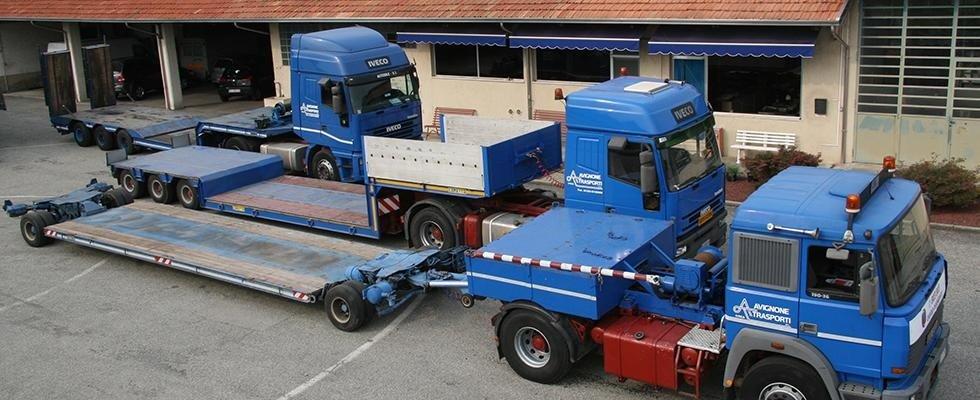 noleggio autogru e trasporto merci