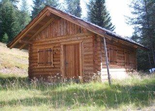 fienile in legno