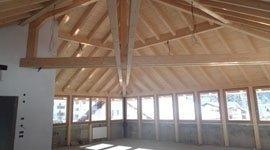 finestre in legno, porte in legno, stanze in legno