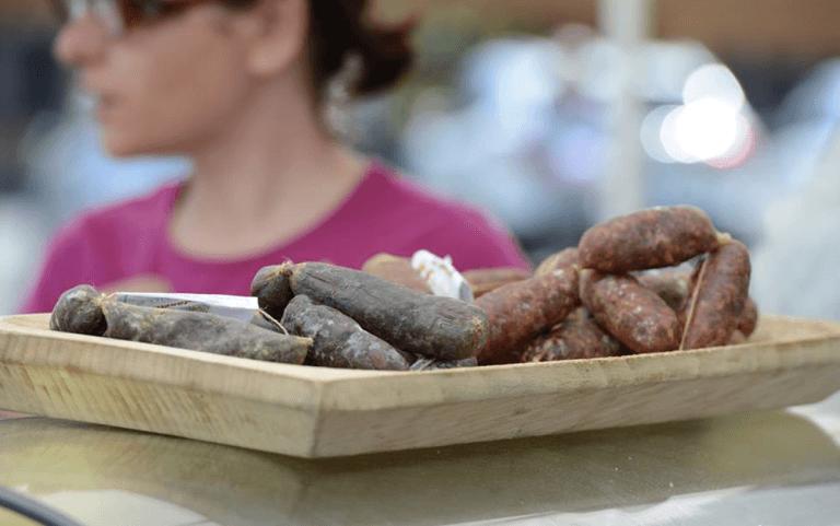 salsicce, salumeria, macelleria,  Agriturismo le Fontanelle, Contigliano, Valle Santa, Rieti