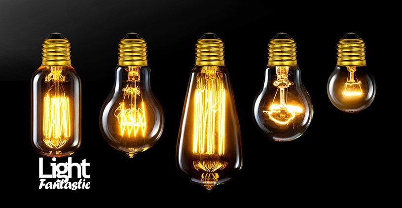 old fashion light bulbs