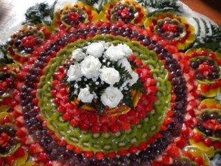 torta frutta fresca