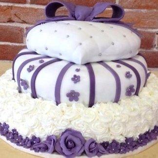 torta in pasta di zucchero per comunioni