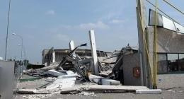 edifici crollati per un terremoto