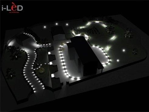 Progettazione illuminazione giardini