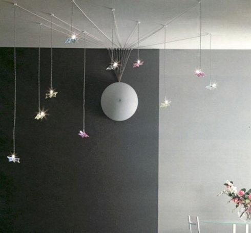 Illuminazione con tesate