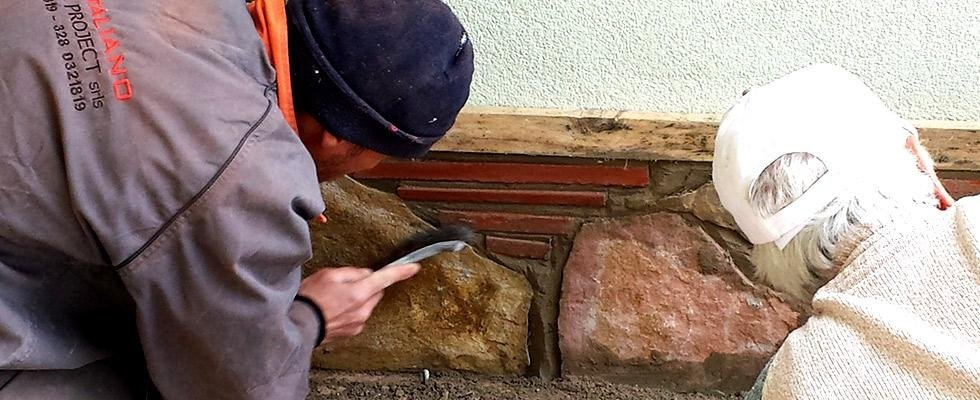lavori in pietra viva