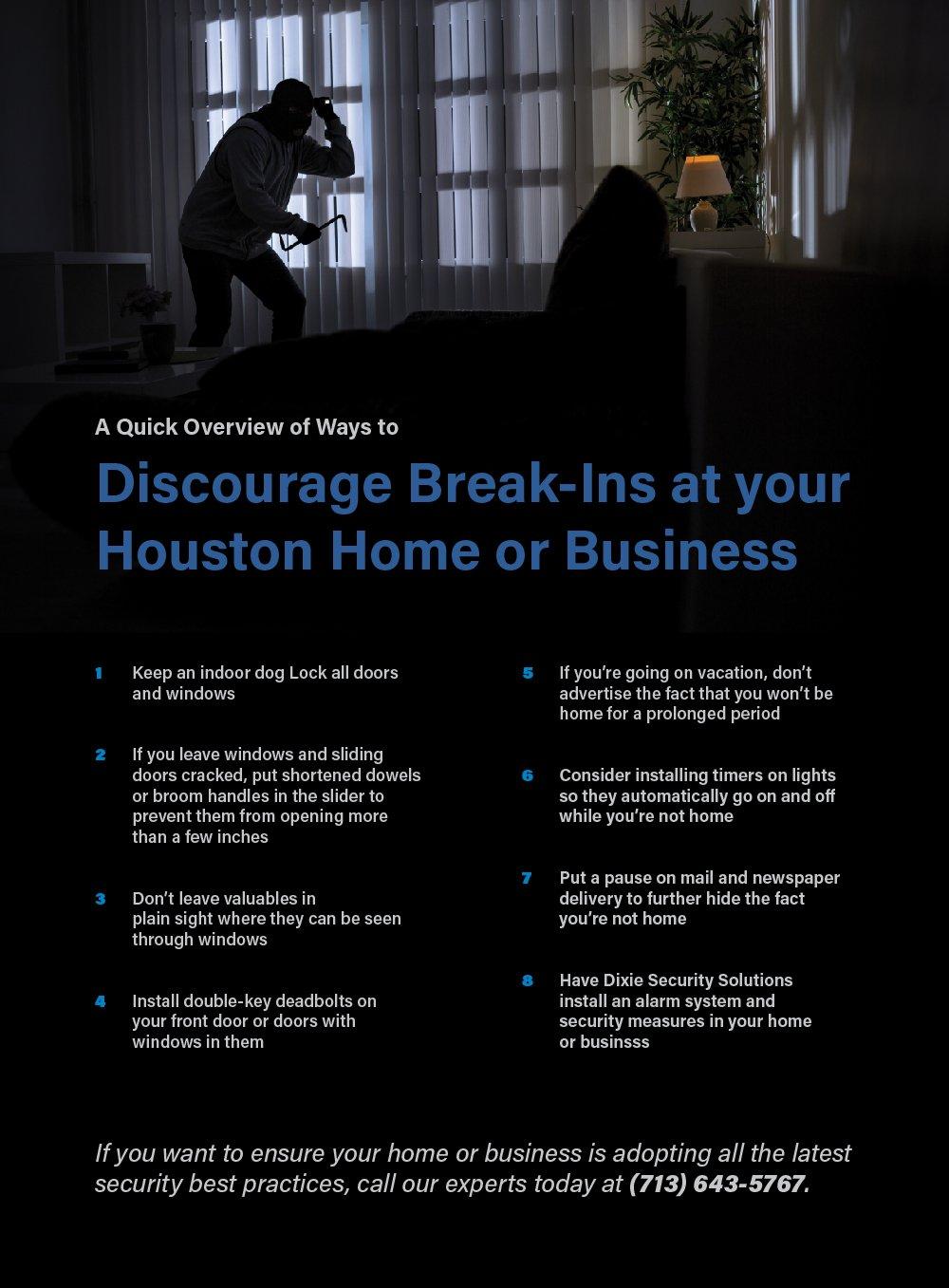 break-in infographic