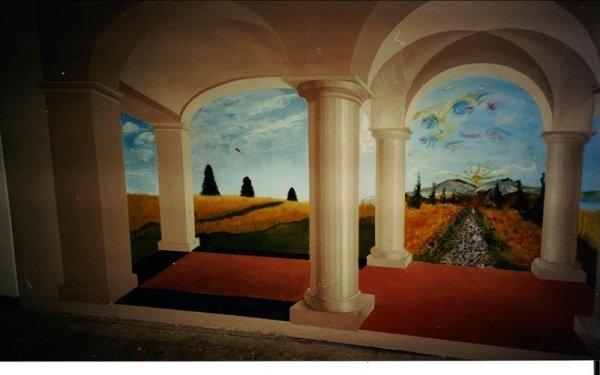 Decorazione parete bologna