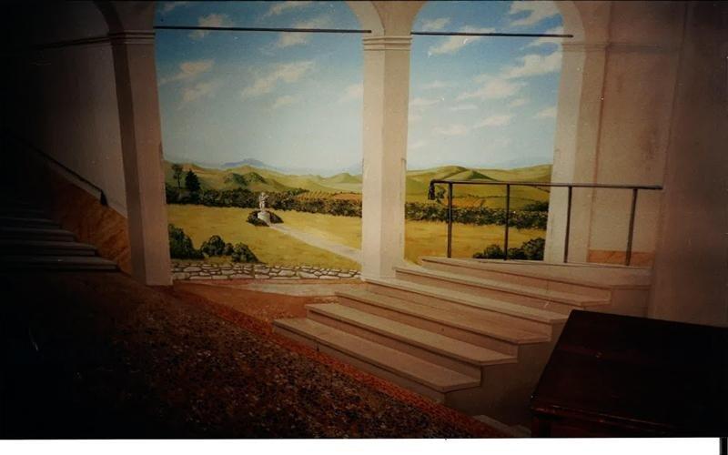 Realizzazione parete decorata bologna