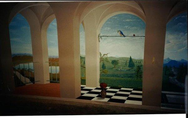 pittura artistica per interni bologna