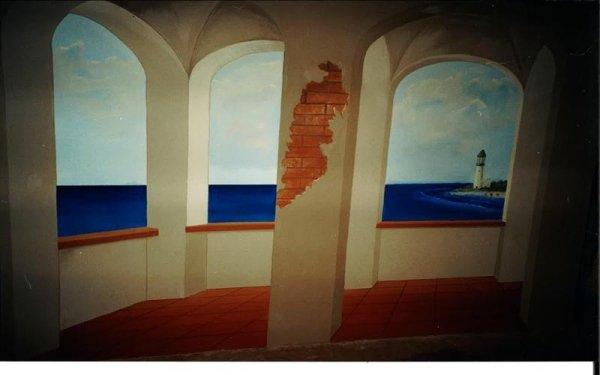 affreschi per parete bologna