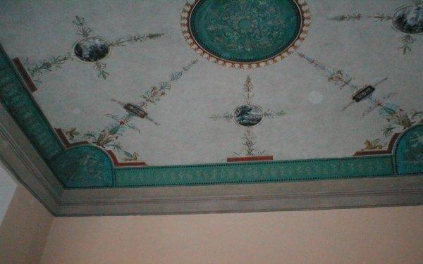 Soffitto decorato bologna