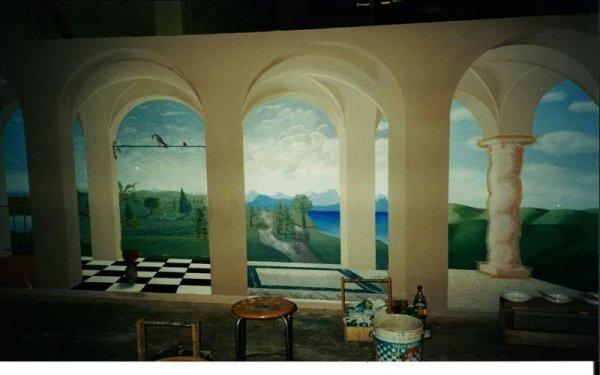 affreschi per soffitto bologna