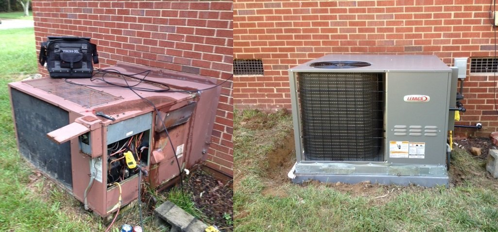 New Air Conditioner Installation