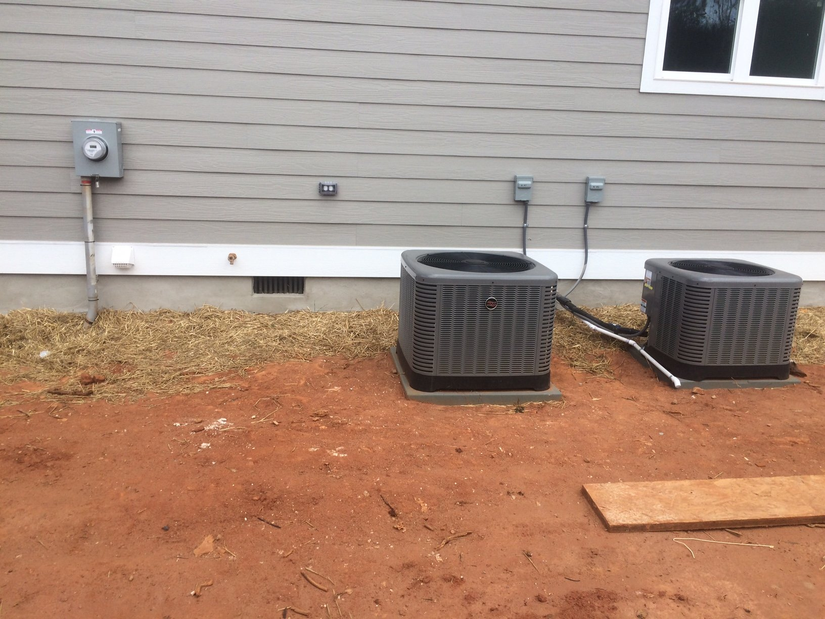 Outdoor unit for air conditioning installation in Concord, NC