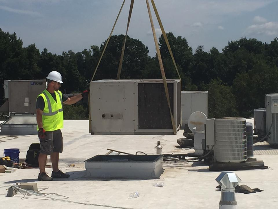 Commercial heating & air conditioning installation in Wilmington, NC