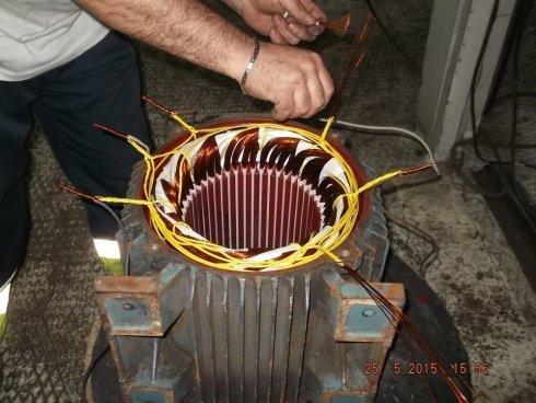 riavvolgimenti motori elettrici