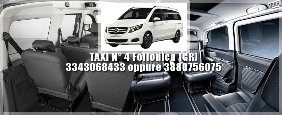 Vannini Taxi numero 4 - Follonica (GR)