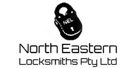 north eastern locksmith logo