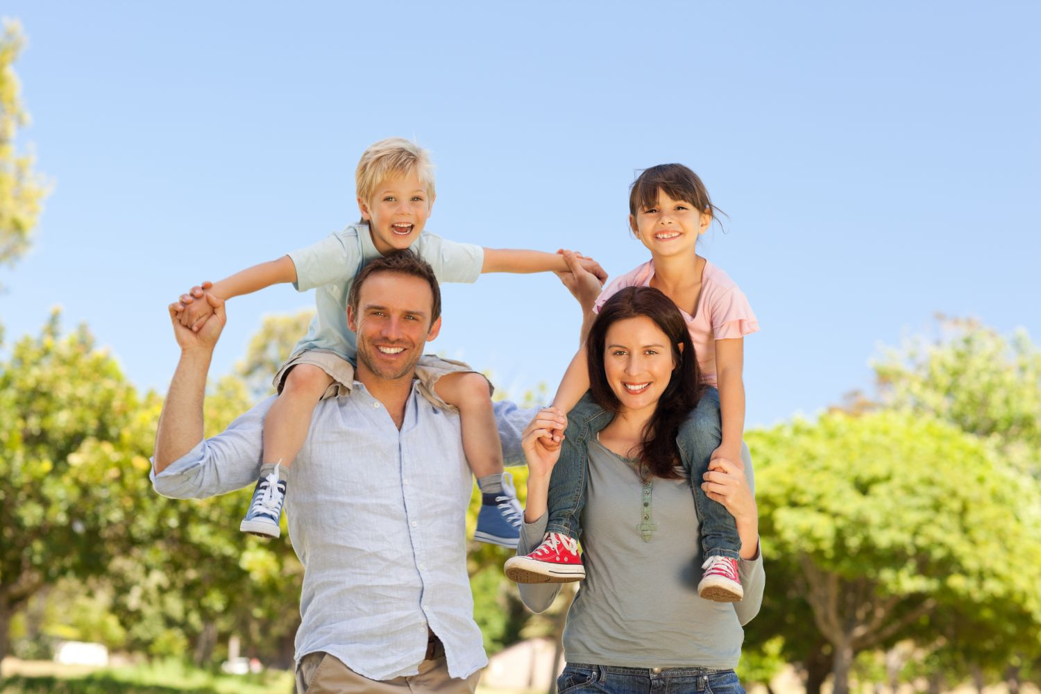 Family satisfied with dental coverage in High Point, NC